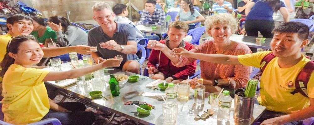 DRINKING IN VIETNAM